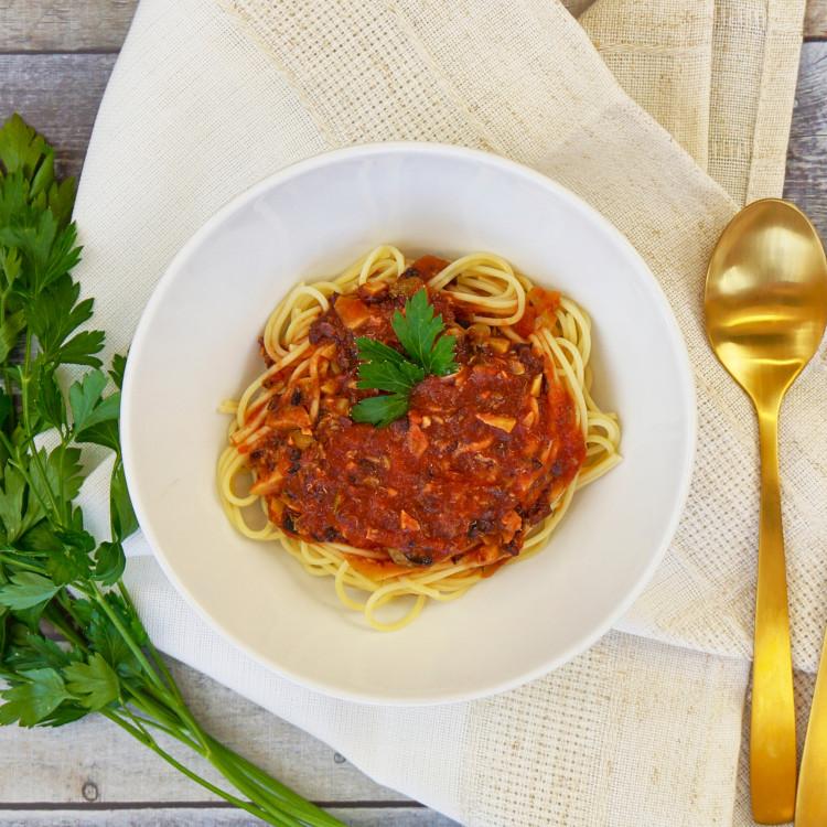 Sauce aux 2 tomates et Kalamata