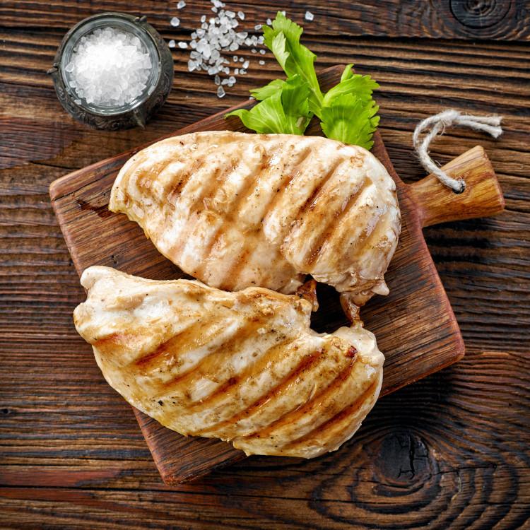 Poitrines de poulet, sauce piccata