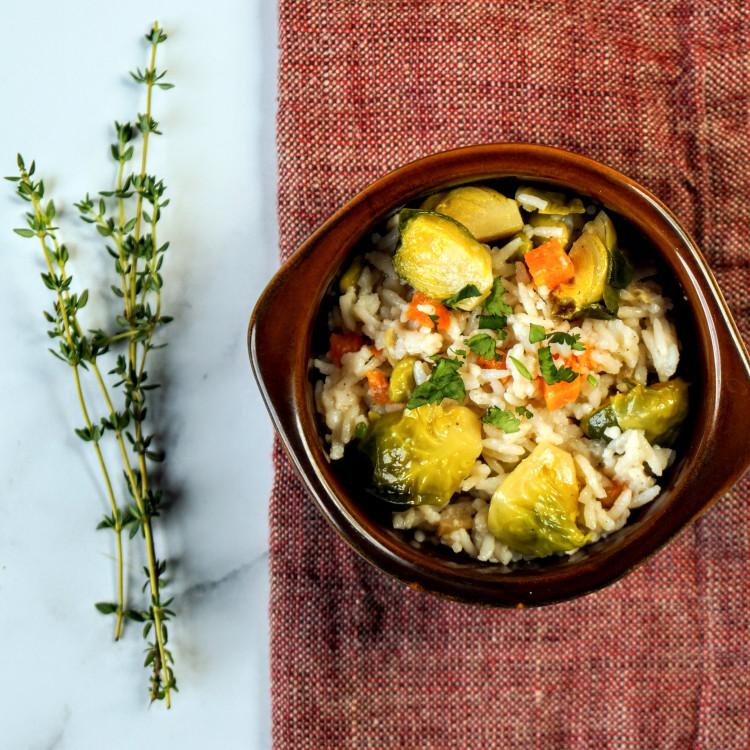 Pilaf de riz basmati aux légumes